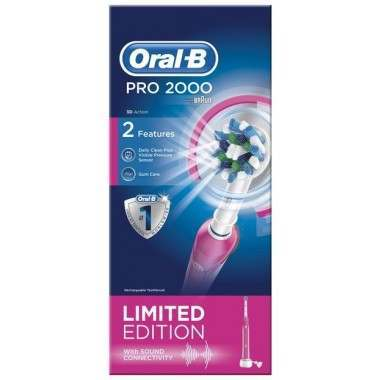 Oral-B Pro 2000 Pink Electric Toothbrush