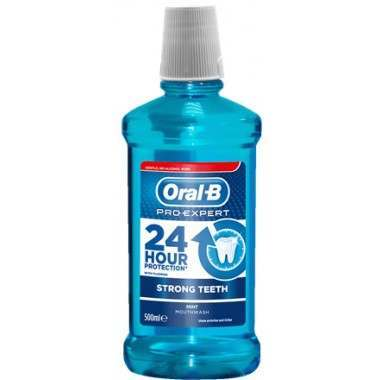 Oral-B 81694129 Pro-Expert Strong Teeth Mouthwash