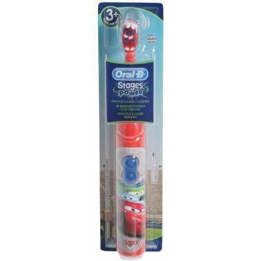 Oral-B DB3.010 Stages Power Disney Cars Battery Electric Toothbrush