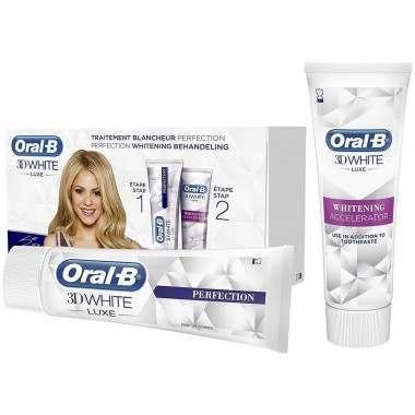 Oral-B 81740790 3D White Perfection Whitening Gift Set