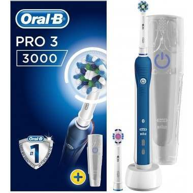 Oral-B  D501.523.2X Pro 3 3000 Cross Action Electric Toothbrush