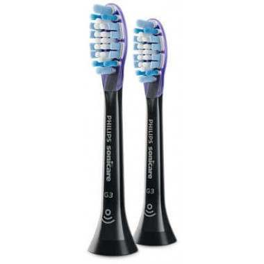 Philips HX9052/33 Sonicare G3 Standard Black 2 Pack Toothbrush Heads