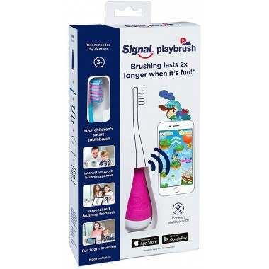 Playbrush Pink Toothbrush