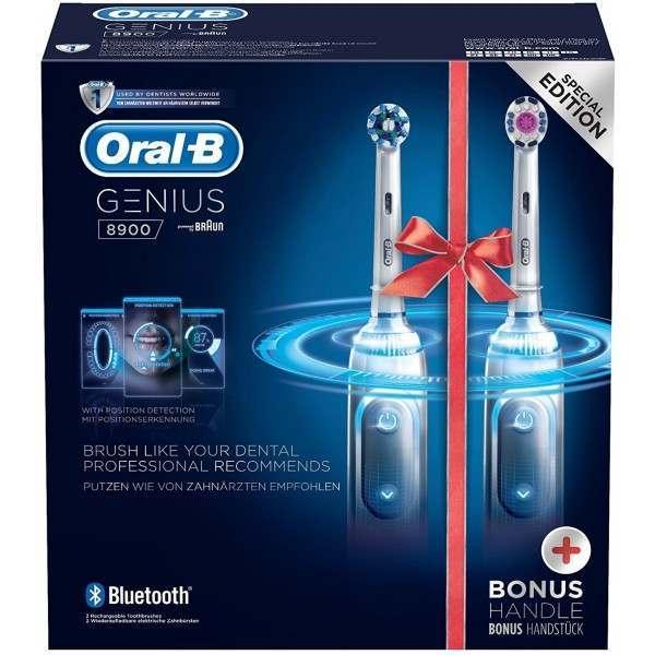 Oral-B D701 535 Genius 8900 Special Edition Two Handle