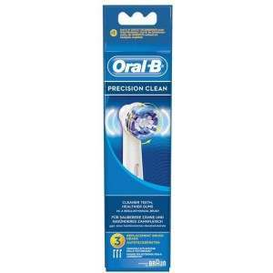 Oral-B EB20-3 3 Pack Precision Clean Toothbrush Heads