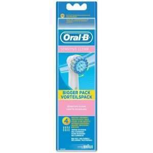 Oral-B EBS17-4 Extra Soft (sensitive) 4 Pack Toothbrush Heads