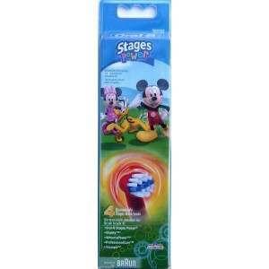 Oral-B EB10-4 Disney Mickey/Minnie 4 Pack Toothbrush Heads