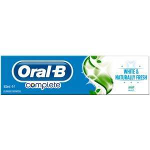 Oral-B 81523889 Complete White & Naturally Fresh Toothpaste