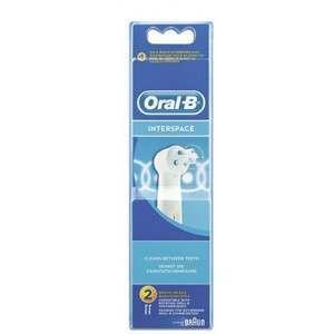 Oral-B IP17-2 2 Pack Interspace Toothbrush Heads
