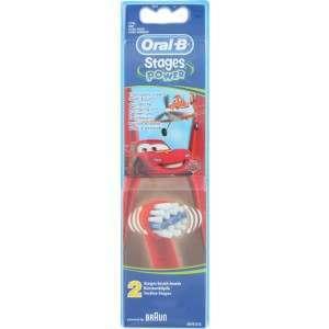 Oral-B EB10-2 Disney Cars & Planes 2 Pack Toothbrush Heads