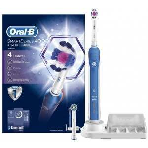 Oral-B D21.525.3 SmartSeries 4000 3D White Electric Toothbrush