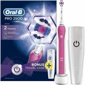 Oral-B D20.513 Pro 2500 3D Action Pink Electric Toothbrush