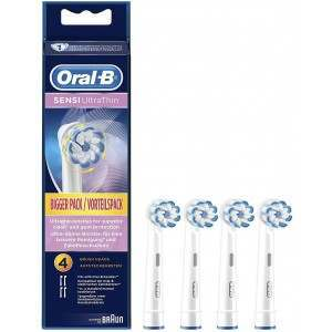 Oral-B EB60-4 SensiClean Ultrathin 4 Pack Toothbrush Heads