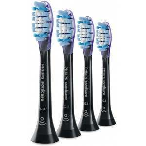 Philips HX9054/06 Gum Care Black 4 Pack Toothbrush Heads