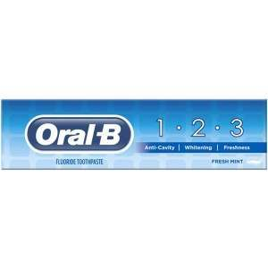 Oral-B 81623581 1 2 3 Delicate White 100ml Toothpaste