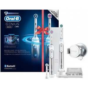 Oral-B D701.535 Genius 8900 Special Edition Two Handle Electric Toothbrush