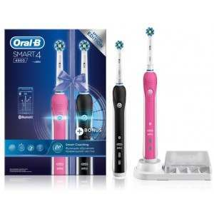 Oral-B D601.525 Smart 4 4900 Special Edition Duo Electric Toothbrush