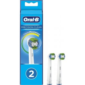Oral-B EB20-2 2 Pack Precision Clean Toothbrush Heads