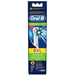 Oral-B EB50-8 CrossAction 8 Pack Toothbrush Heads