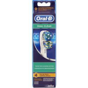 Oral-B EB417-4 4 Pack Dual Action Toothbrush Heads